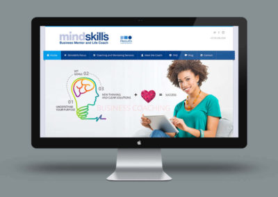 Website update for Mindskills Coach