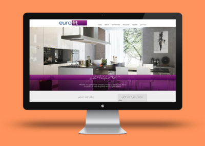 Website for Eurofit Kitchens and Cupboards